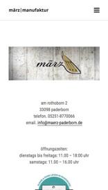 März Manufaktur Paderborn mobile Ansicht (Referenz Hanna Brunken)