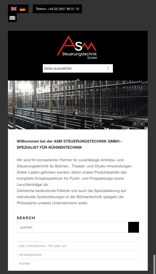 ASM Steuerungstechnik mobile Version (Referenz)