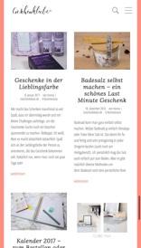 geschenkliebe.de mobile Ansicht (Referenz Hanna Brunken)