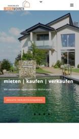Immobilien BesserWohnen mobile Ansicht (Referenz Hanna Brunken)